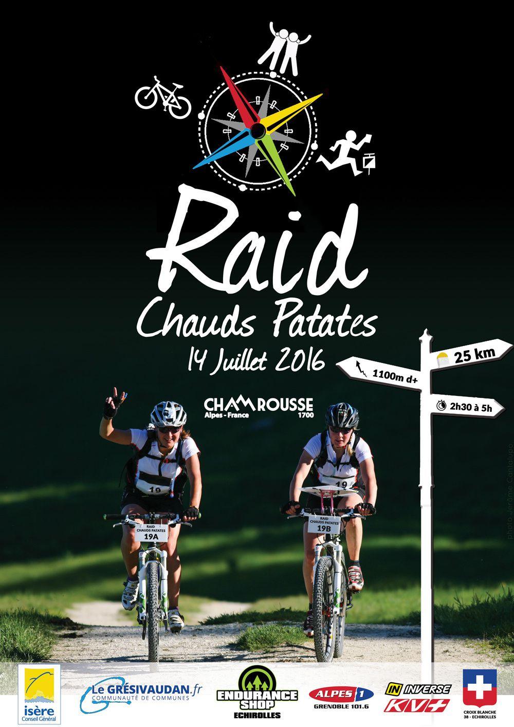 Annonce : le Raid Chaud Patate le 14 juillet !