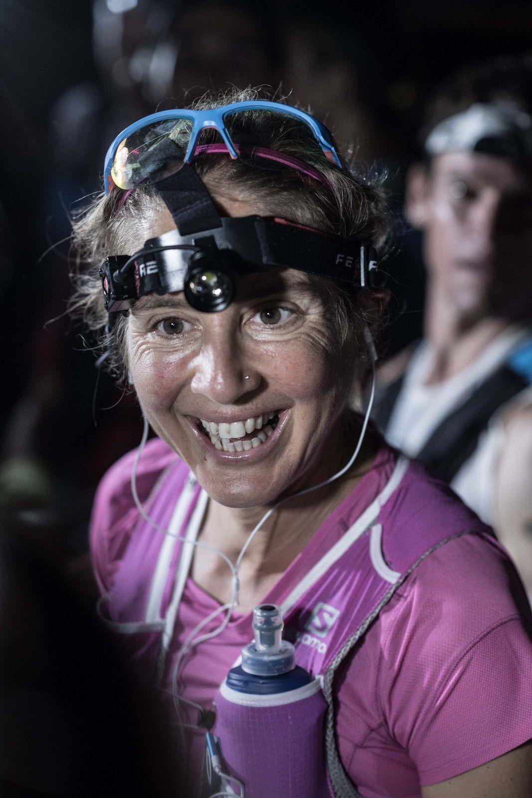 23 juin The North Face Lavaredo Ultra Trail Caroline Chaverot au départ