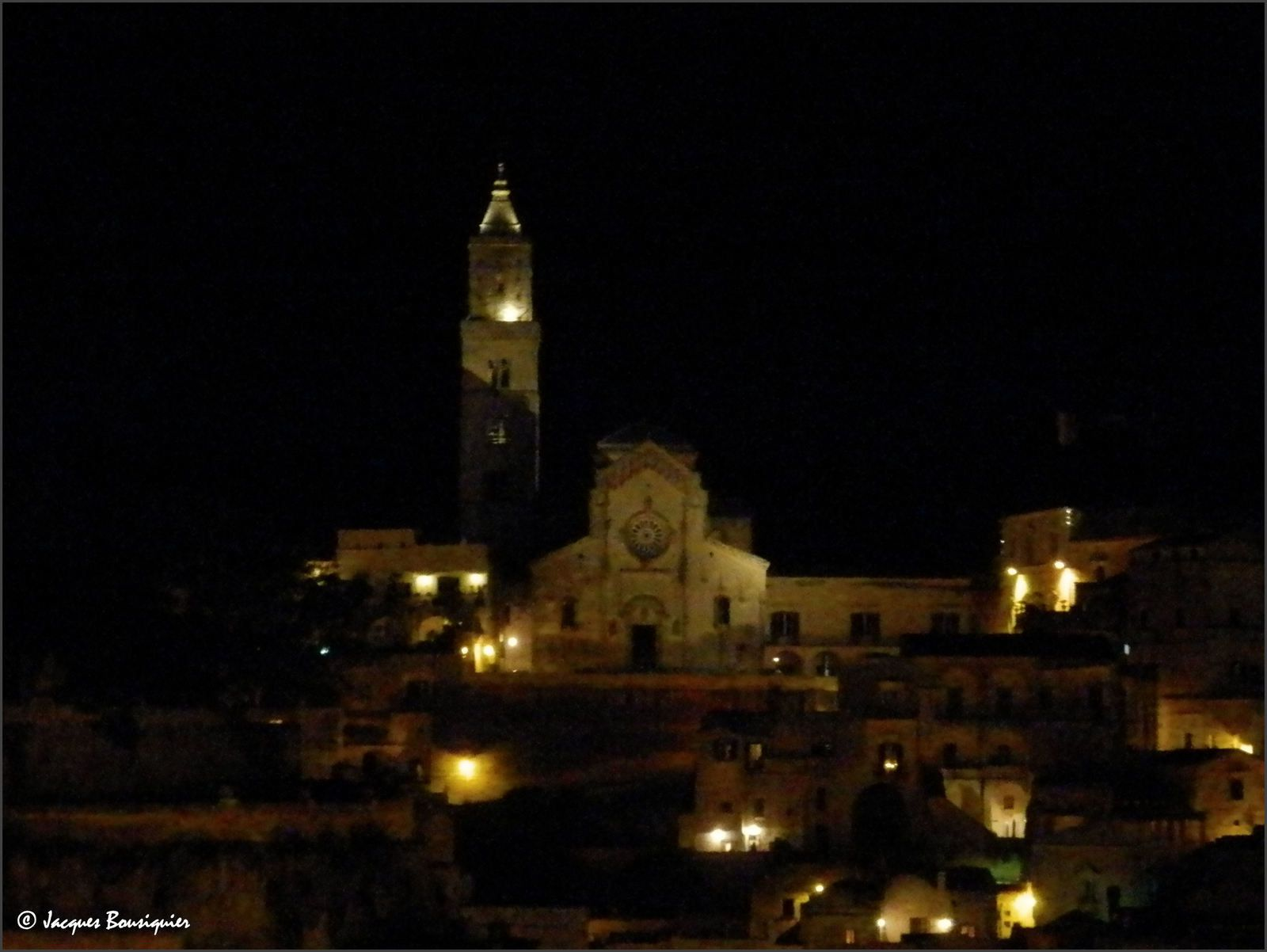 Matera by night