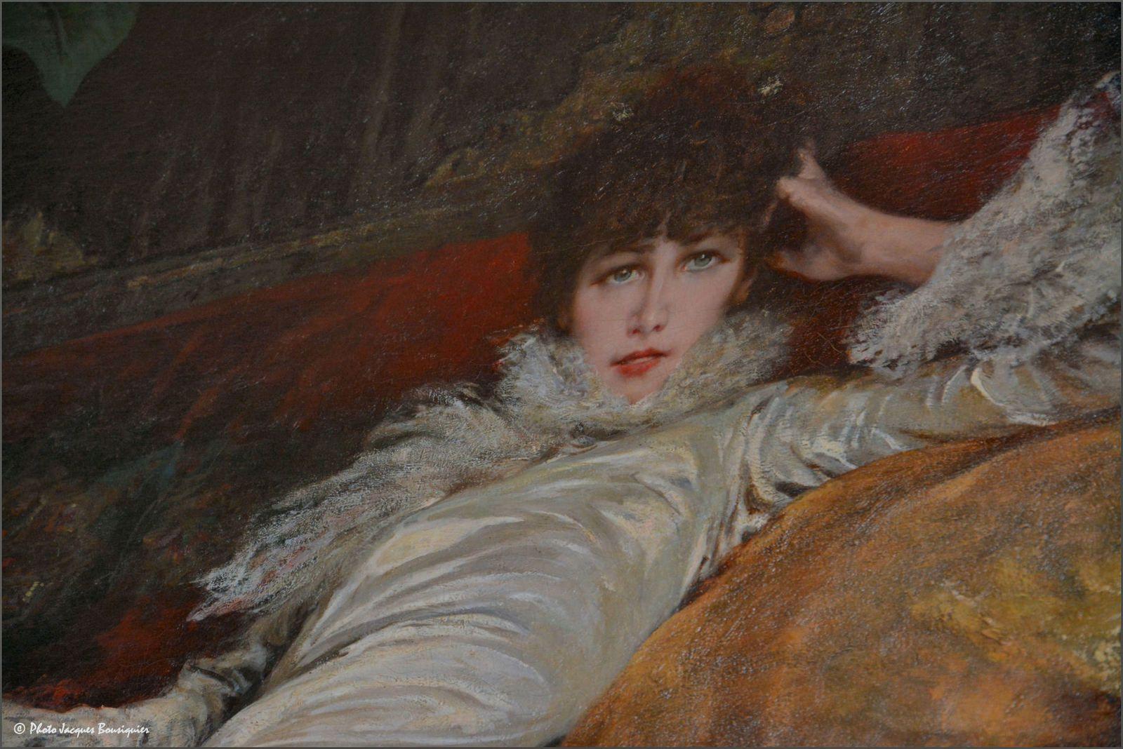 Petit bonjour du jour, de la part de Sarah Bernhardt