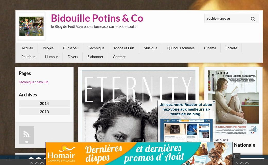 Halte aux pubs intempestives voire douteuses sur nos blogs for Bloquer fenetre pop up firefox
