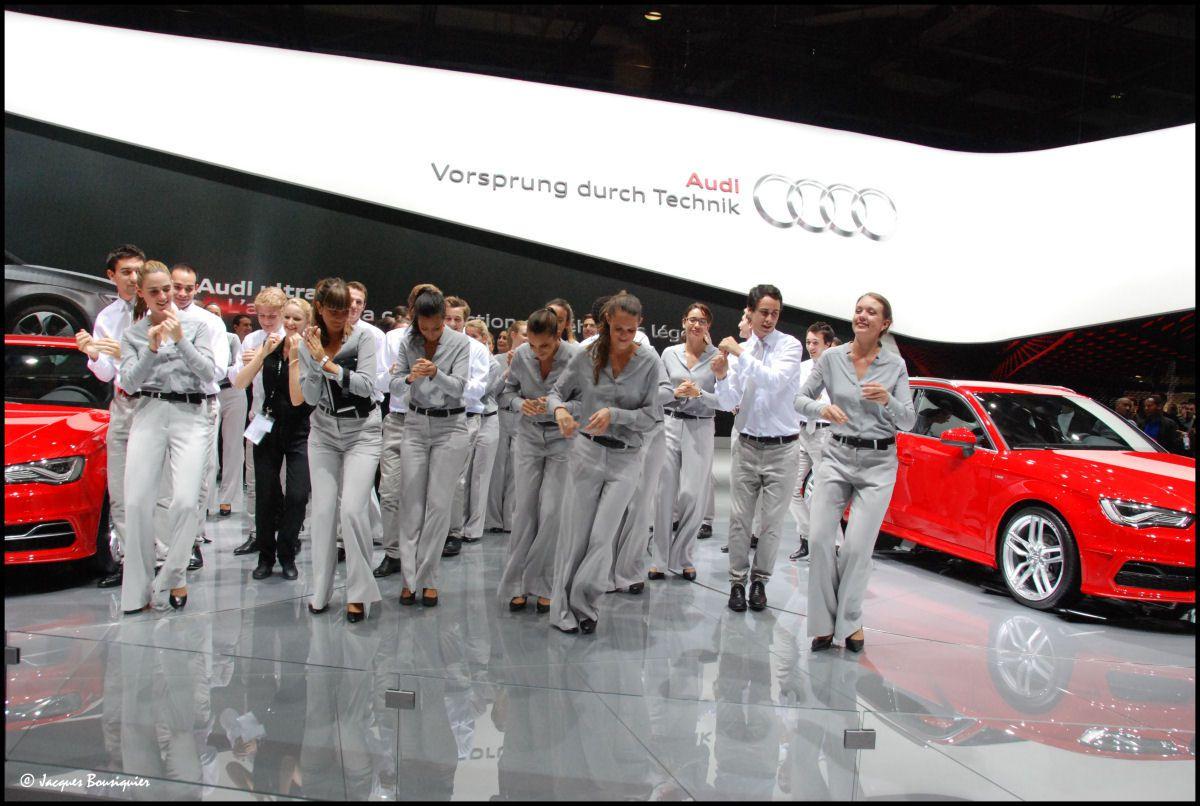 Oh dis !... Danse avec les Stars sur le stand Audi