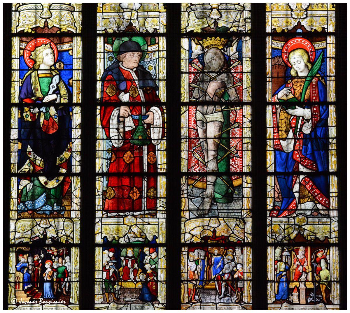 Les vitraux de Saint-Lô