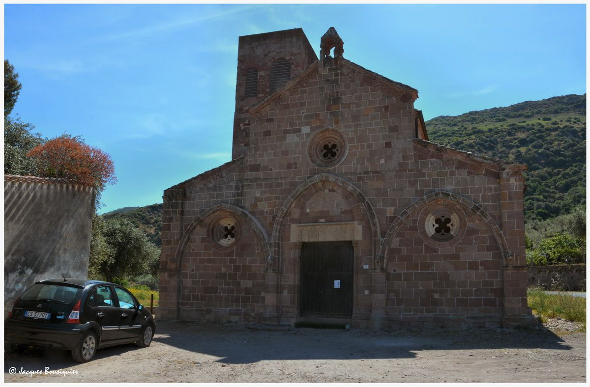 Roman de Sardaigne : San Pietro Extramuros di Bosa