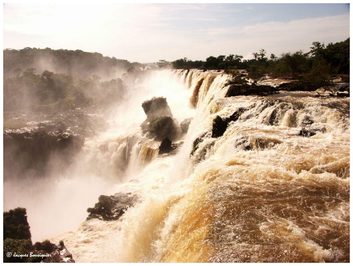 Que d'eau, que d'eau !... Les chutes d'Iguaçu