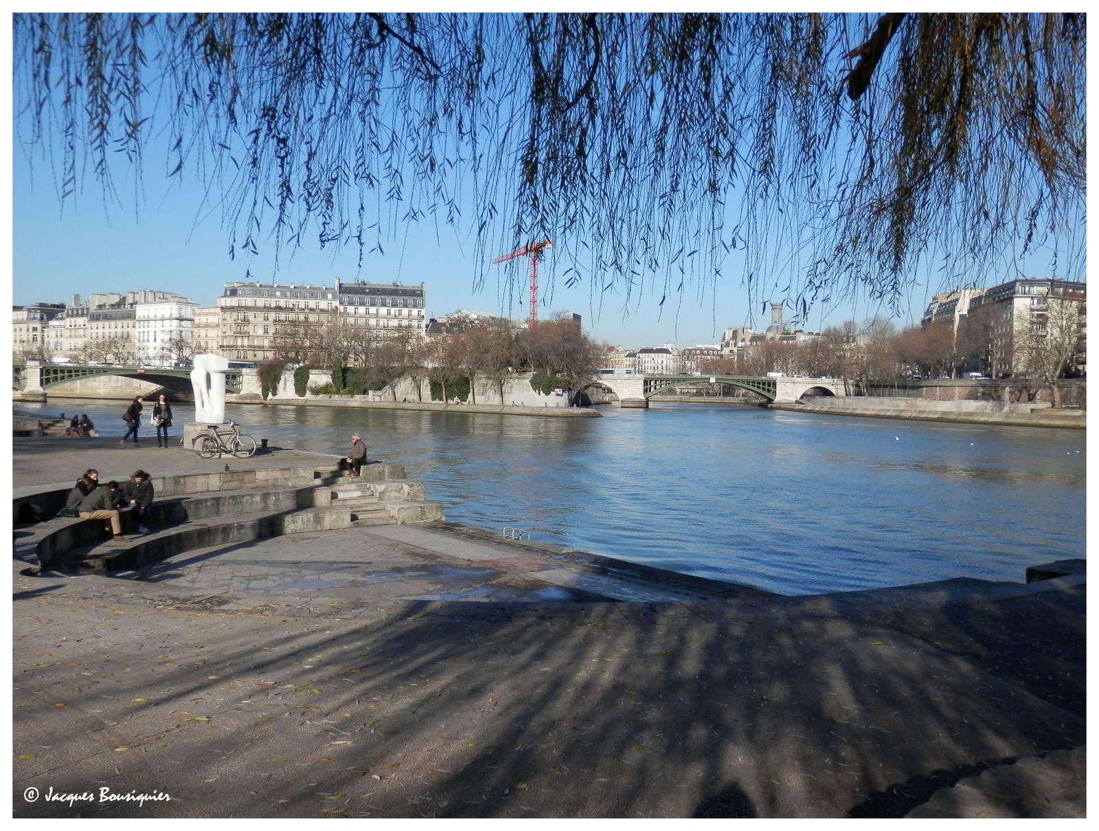 Balade à Paris un jour d'hiver
