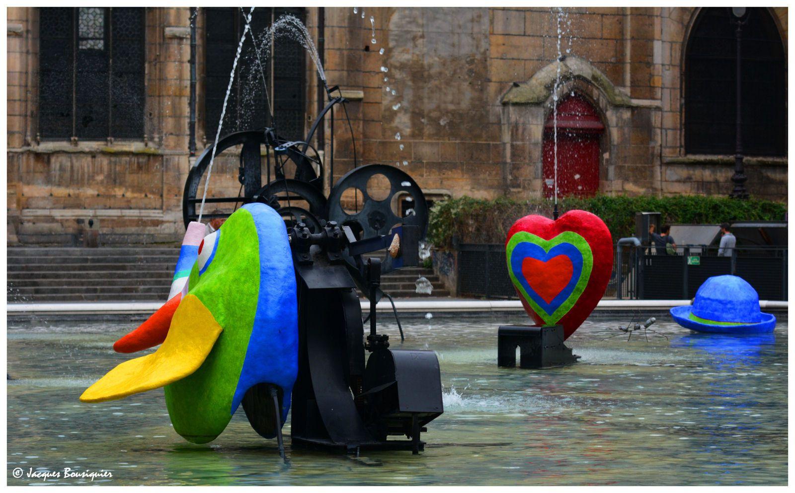Jeux d'eau les jets de La Fontaine