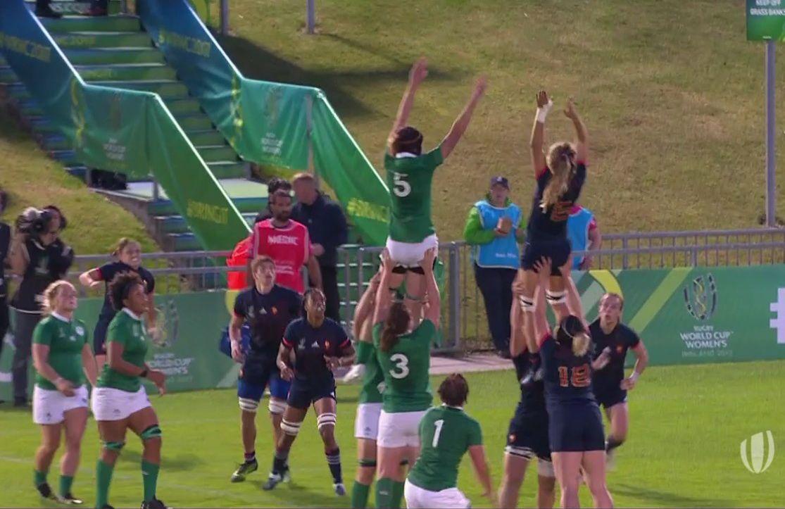 France irlande une place en demi finale de la coupe du monde de rugby 2017 images du beau du - Place de rugby coupe du monde ...
