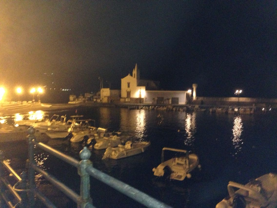 Lipari by night