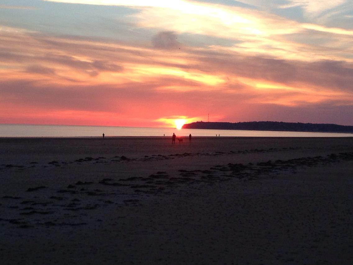 Portbail, bye bye the sun...