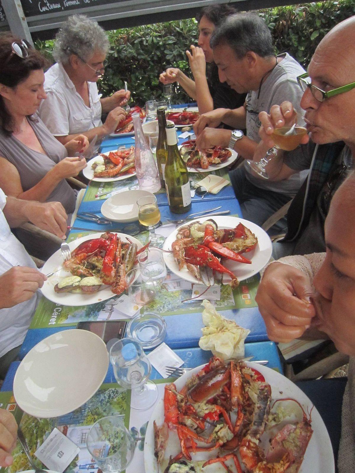 Restaurant au Barcarès, &quot&#x3B; cuisine des filles&quot&#x3B; près du port