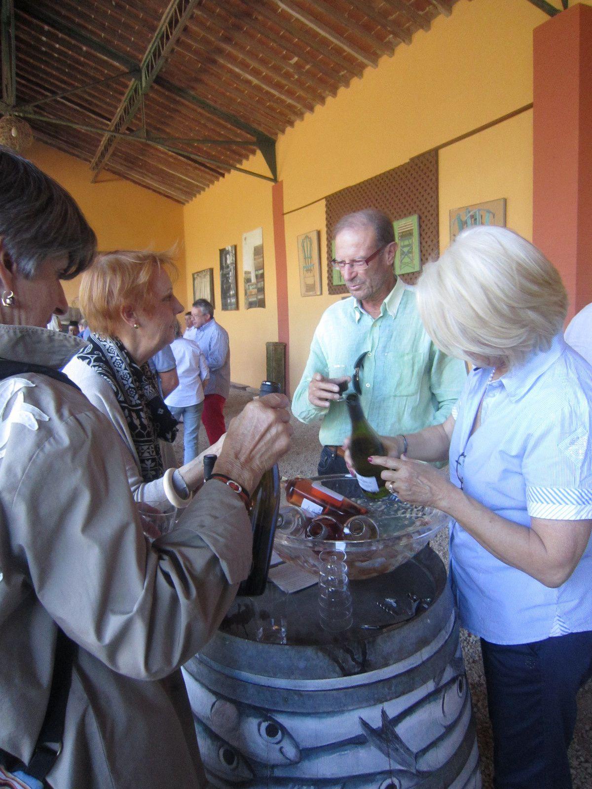 Claudine Picard s'expose au domaine Bellavista à Camelas