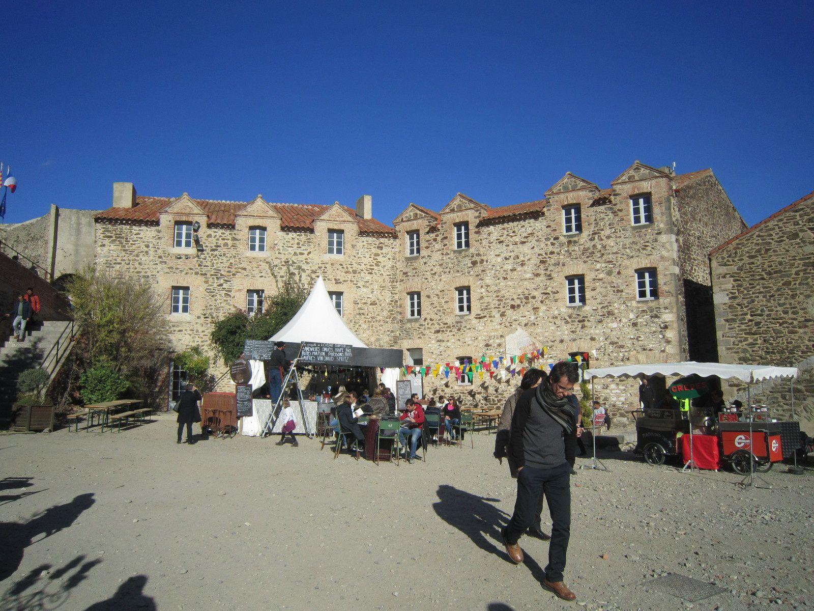 La Cour de Noël à Collioure, 2015