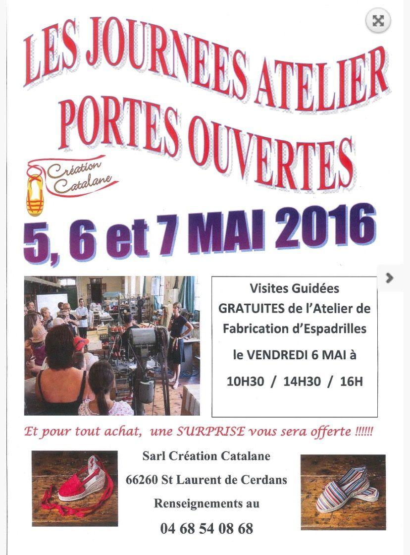 St Laurent de cerdan, les journées atelier portes ouvertes de création catalane