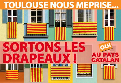 Oui au Pays Catalan, Sortons les drapeaux,