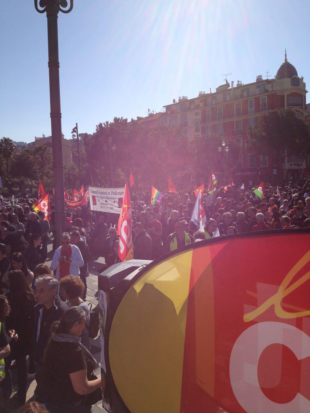 Manif du 9 Avril 2015 contre l'austérité