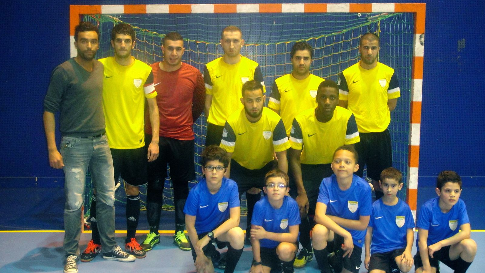 Les Vénissians de l'aS Charreard futsal