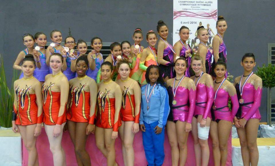 Les gymnastes rythmiques ne seront pas présentes à St Brieuc