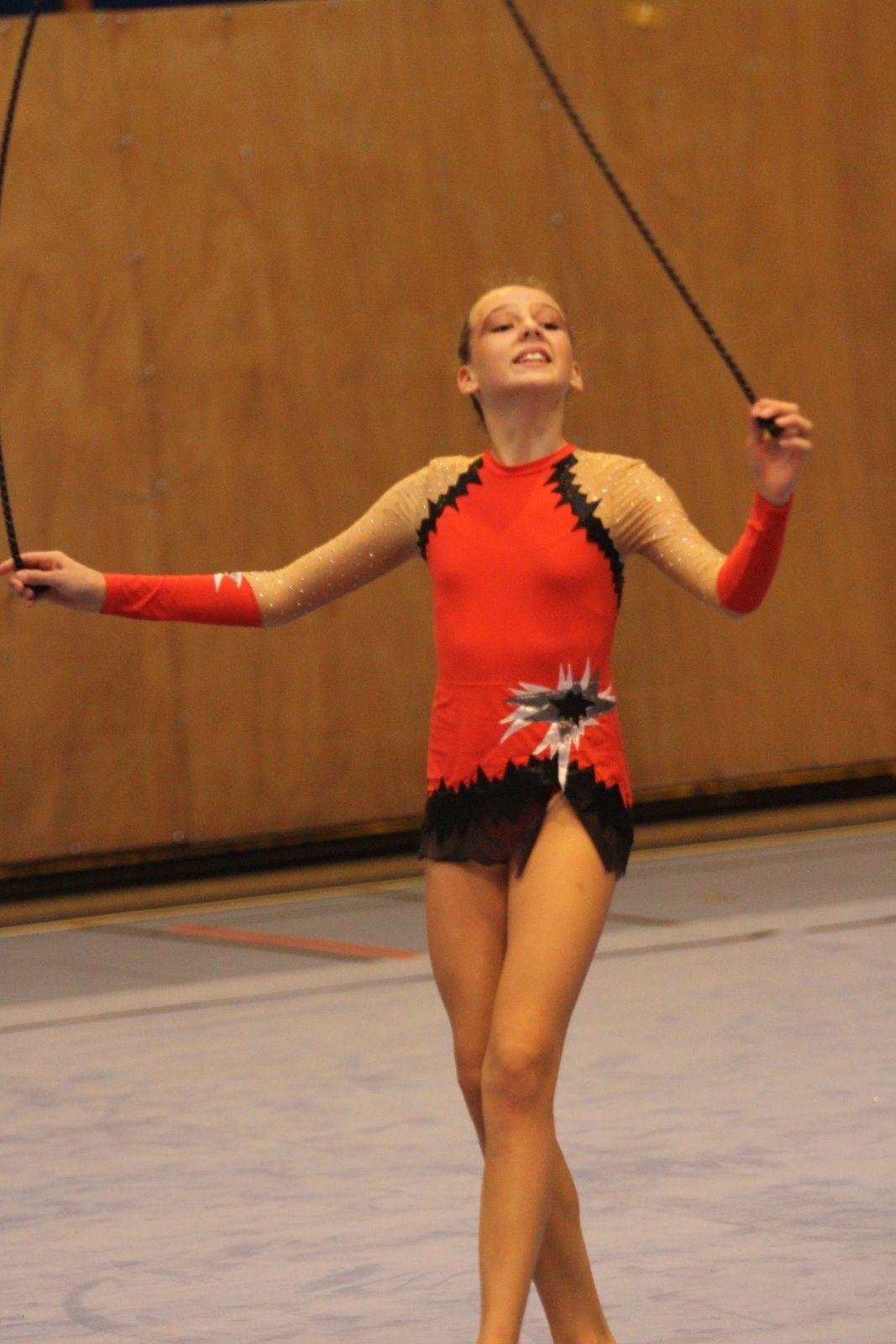 Magnifique championnat Rhône-Alpes de gymnastique rythmique