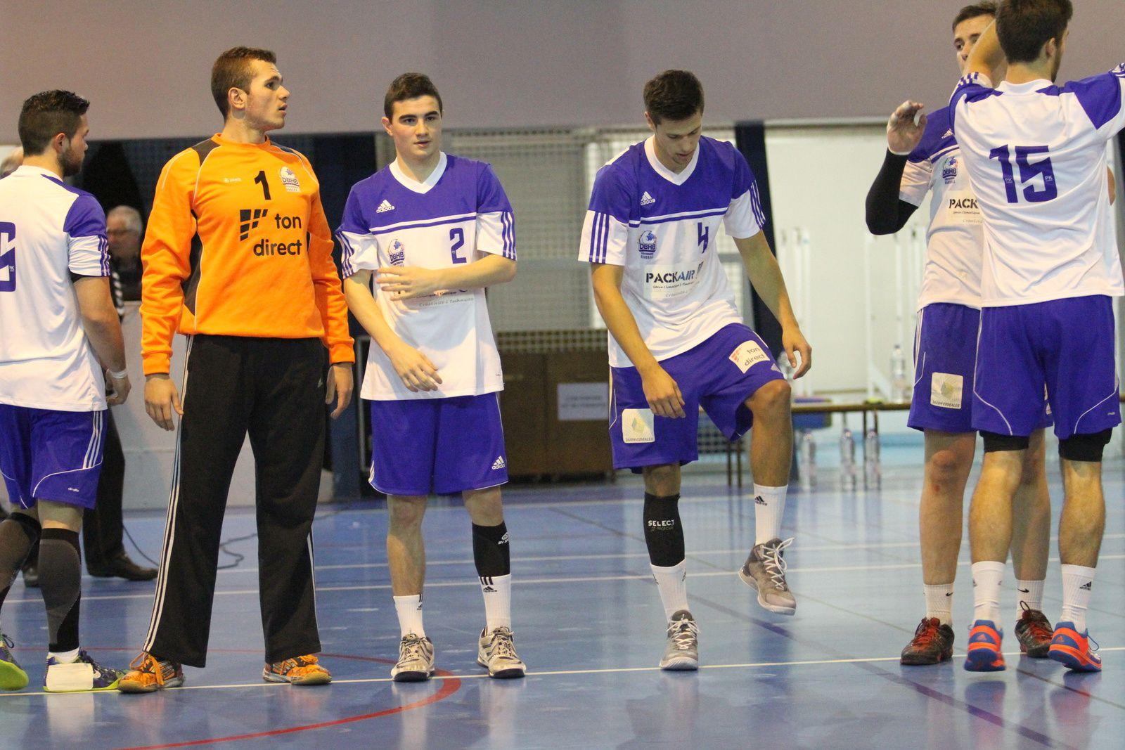 Quatrième défaite consécutive pour les handballeurs vénissians