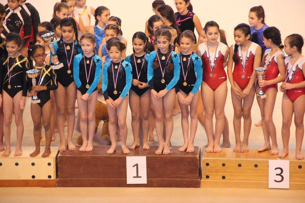 Les gymnastes ont bien débuté leur saison - Photos : Droits réservés