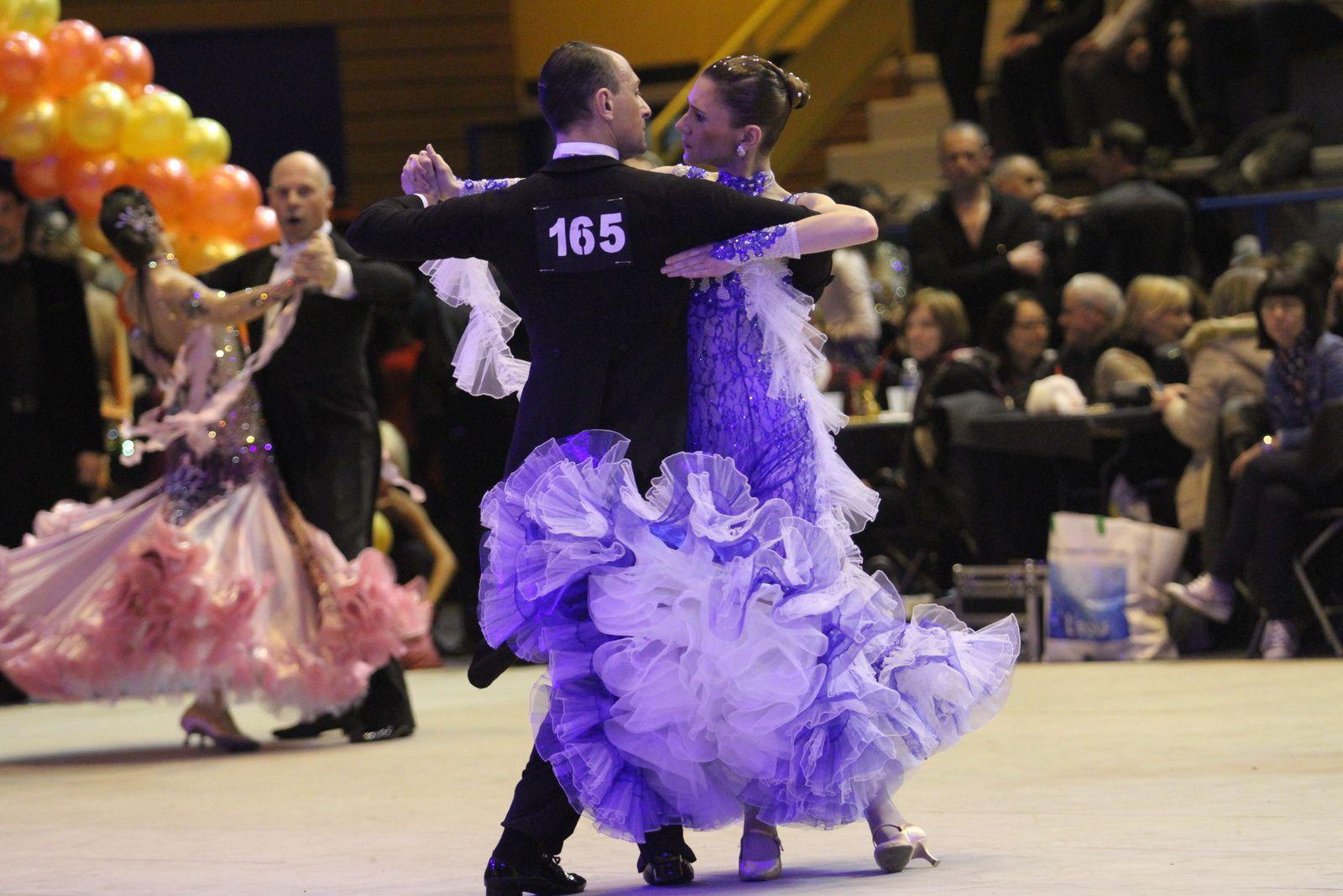 Le 6e Trophée de danse sportive de Vénissieux Olympique Danse Sportive a été d'un très haut niveau