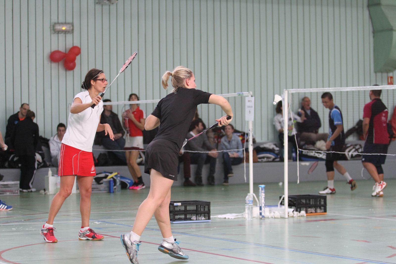 Coraline Bauquet et Tiphaine Davriu vainqueurs du double féminin catégorie D+