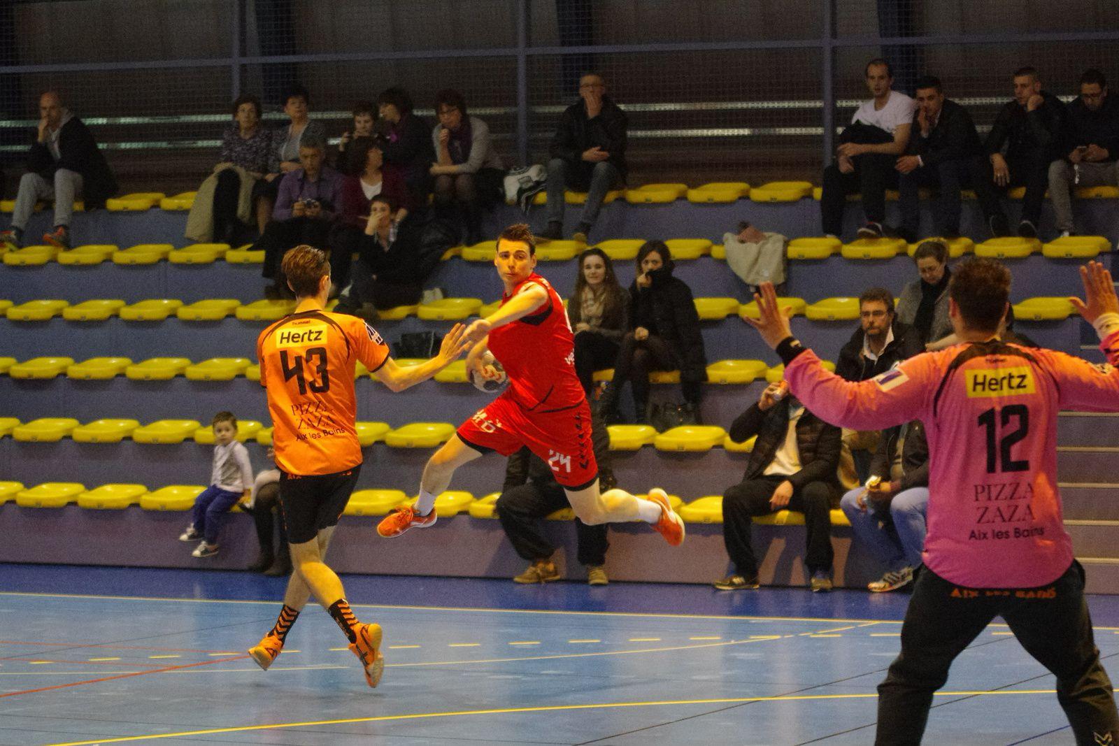 Vénissieux Handball a vaincu le signe indien en s'imposant face à Aix-les-Bains  pour la première fois depuis quelques saisons