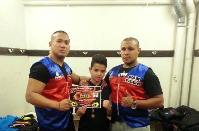 Après des titres nationaux en K1 et muaythaï, le Siam Boxing 69 s'illustre en kick-boxing