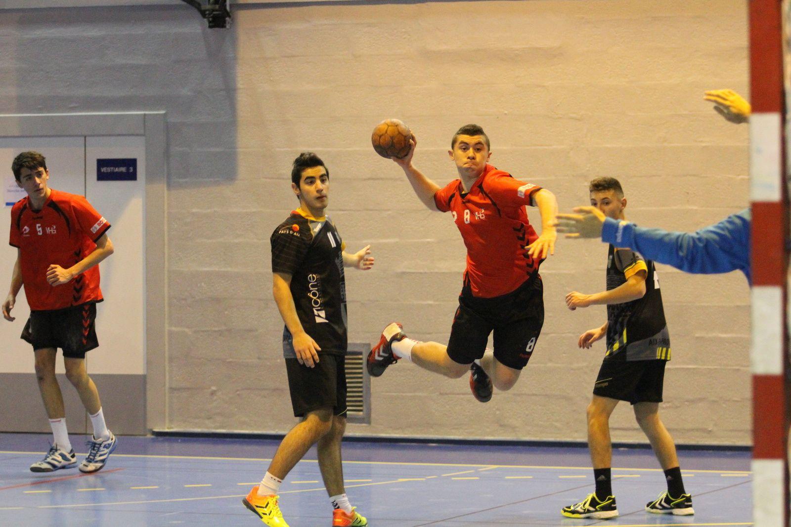 Les  espoirs du Vénissieux Handball jouent leur 8e de finale contre Chambéry à Vénissieux