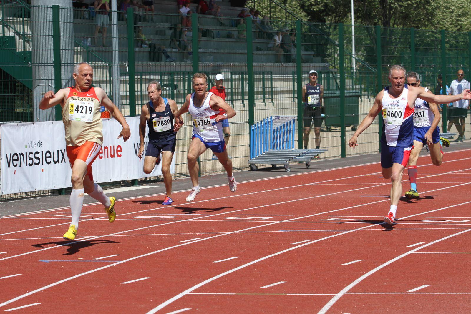 Les records tombent dans les épreuves combinées au stade Laurent-Gerin
