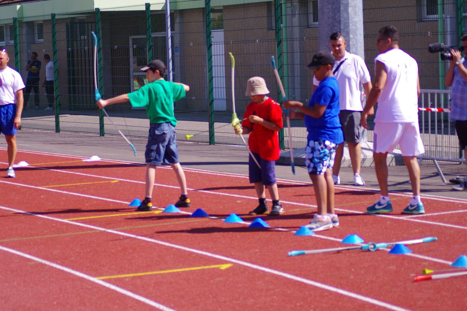 La 7e édition d'Olympiakos avait pour cadre cette année les installations du complexe sportif Laurent-Gerin
