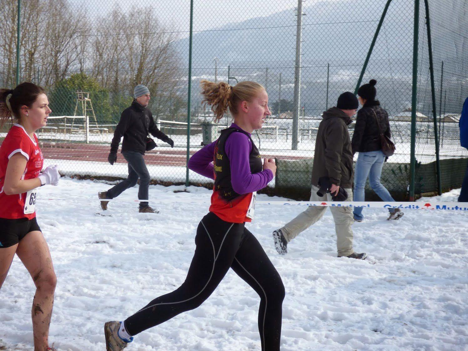 Lucie Thiollière récompensée au challenge 4 saisons - Photo : © AFA