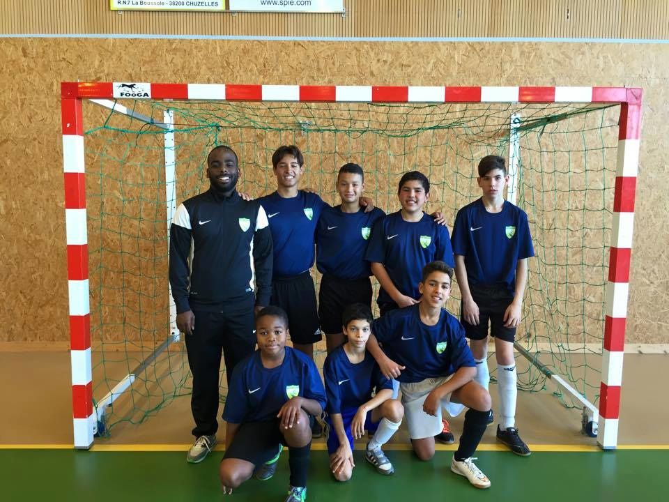 Les  U15 de l'AS Charreard Futsal - Photo : © ASCF