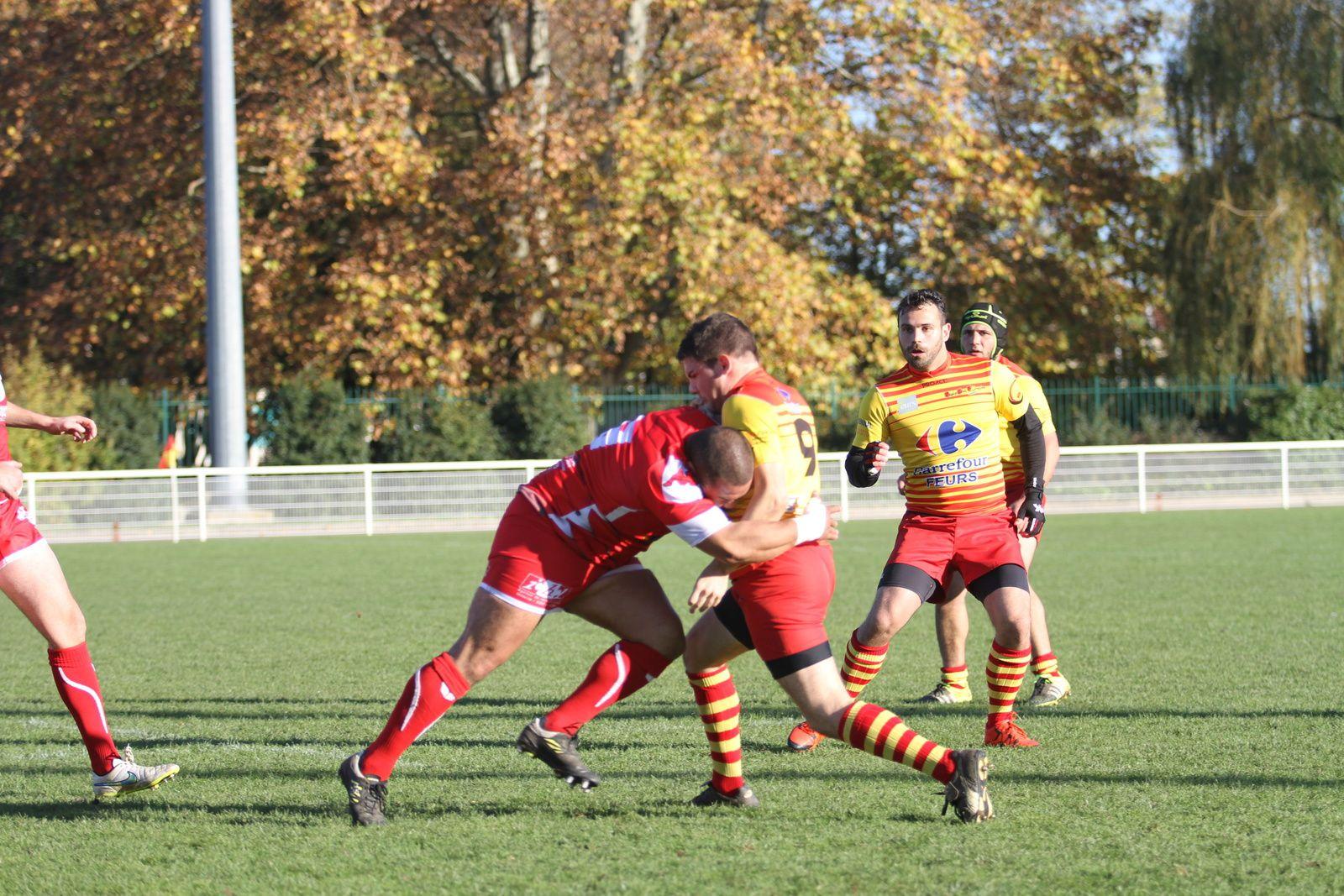 Seconde victoire sur 7 rencontres jouées pour l'US Vénissieux Rugby