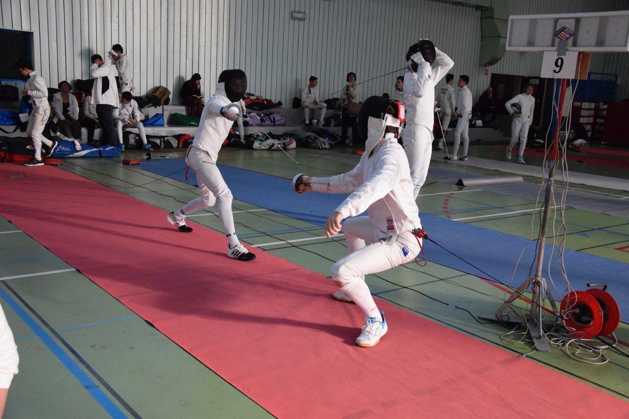 Plus de 210 tireurs des catégories juniors à  poussins étaient présents ce week-end à Vénissieux - Photos : © DR
