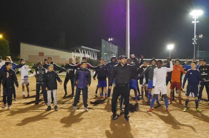 Cinquante footballeurs U15 et U17 de l'AS Minguettes vont participer à la cérémonie d'ouverture du stade des Lumières - Photo : © AS Minguettes-Vénissieux