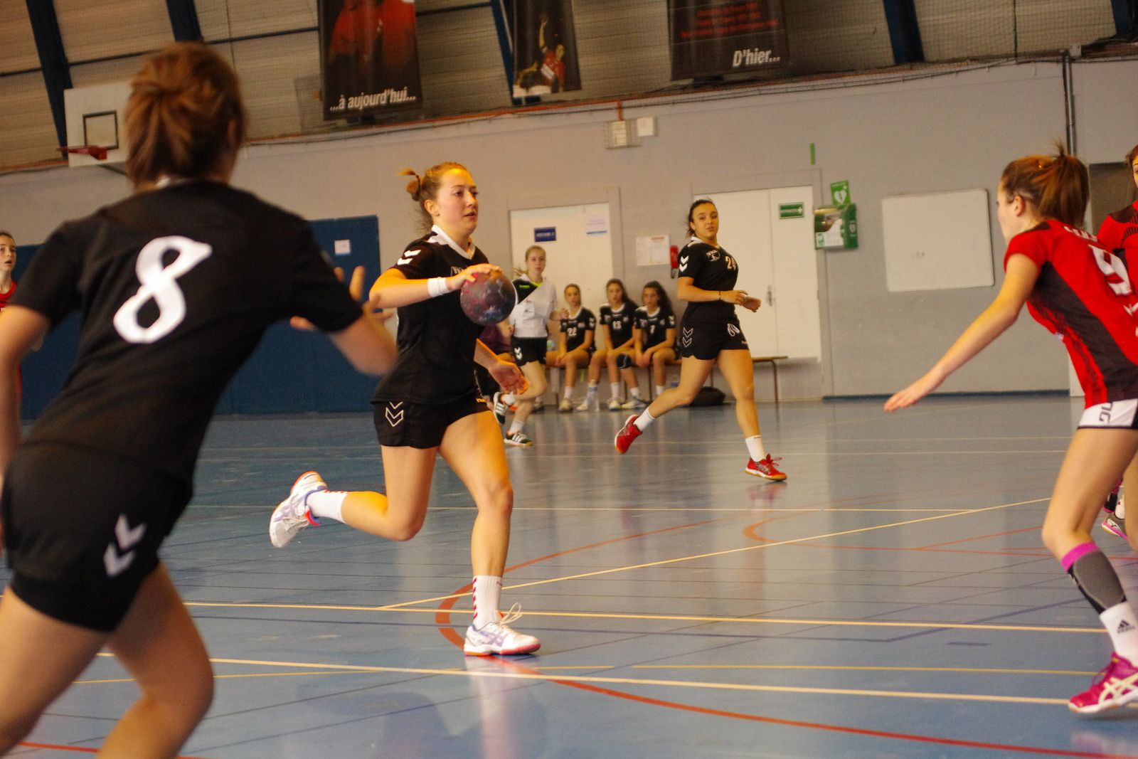 Premier succès en seconde phase du championnat de France pour les U18 masculins de Vénissieux Handball