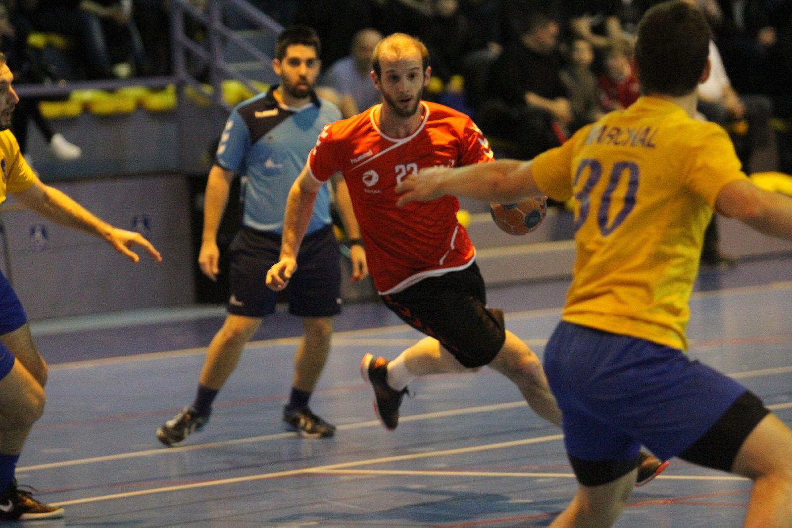 Vénissieux Handball n'avait pas les armes pour contrer un Caluire revanchard