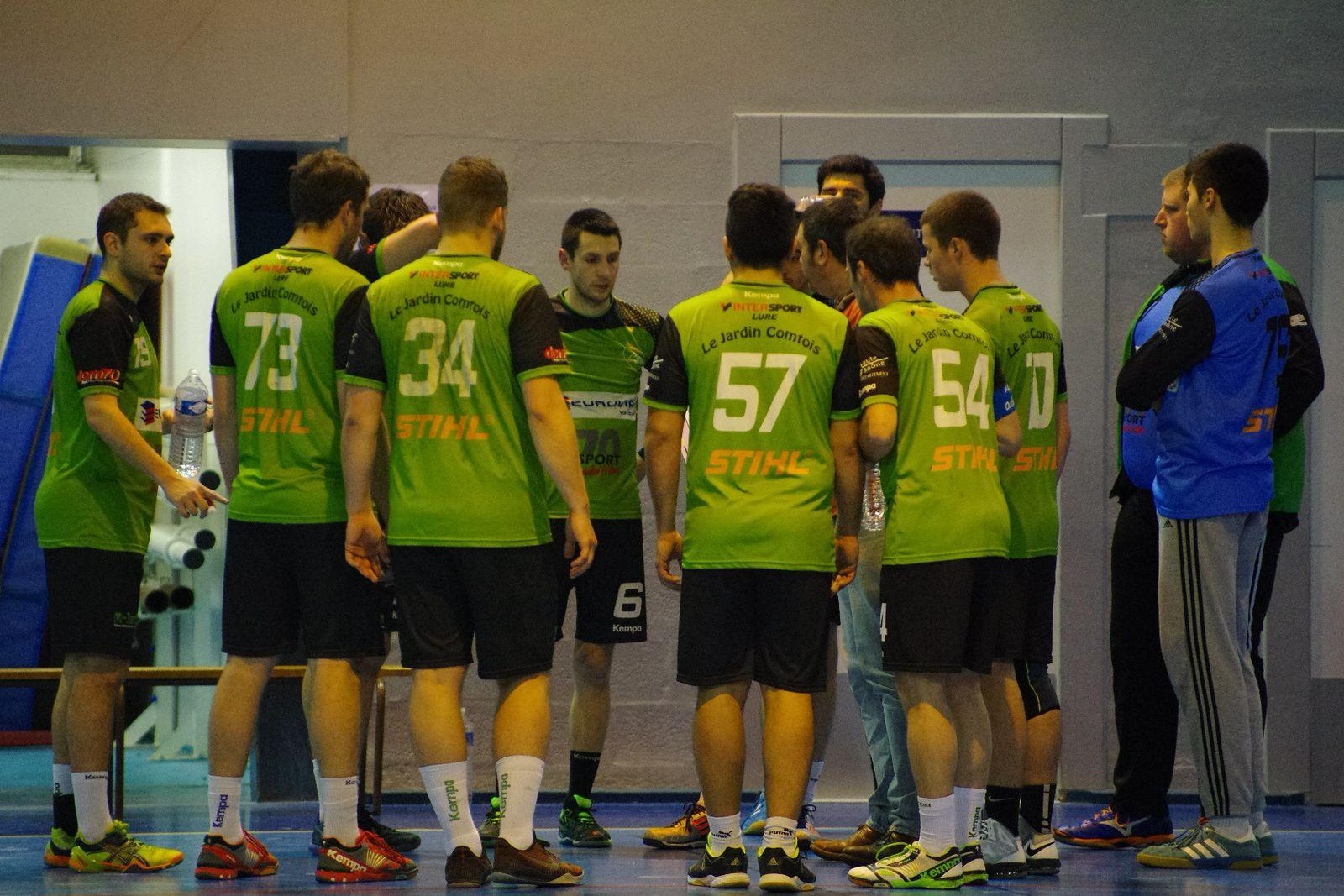 Vénissieux Handball a arraché le match nul  face à Lure/Villers dans les 5 dernières secondes.