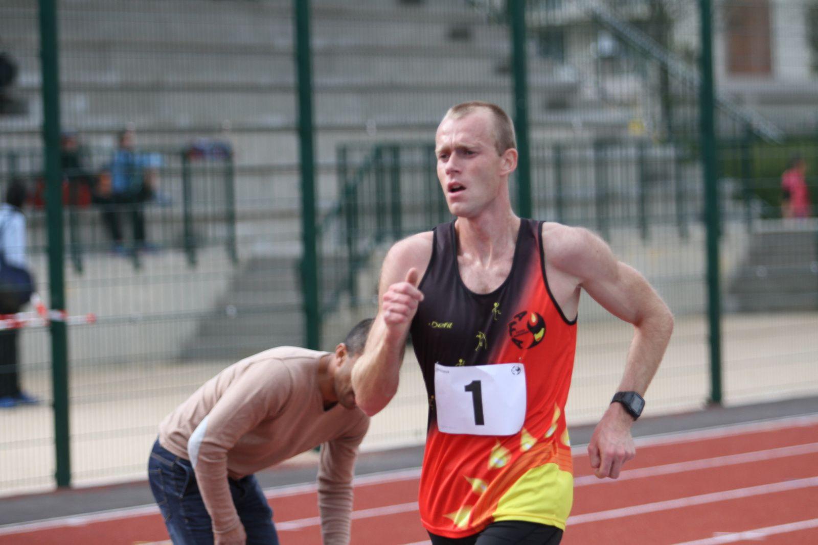 Kévin Campio representera la France dans le 20 km marche aux JO de Rio