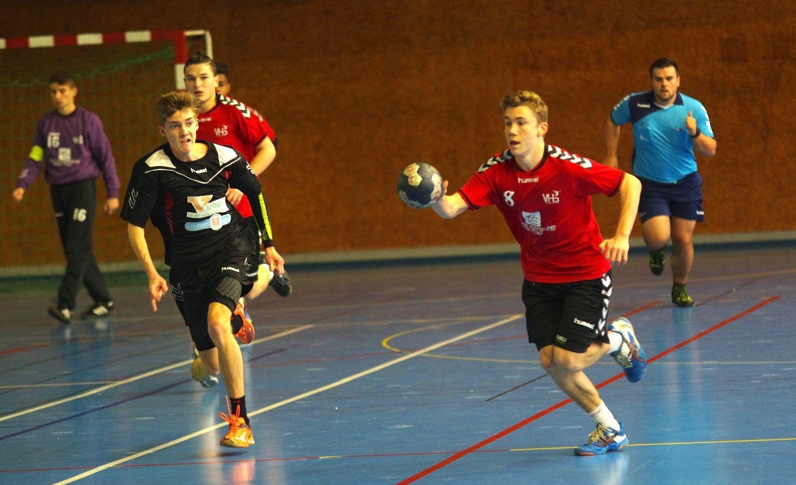 Les moins de 18 ans de Vénissieux Handball qualifiés pour les quart de finale du Champinnat de France Excellence
