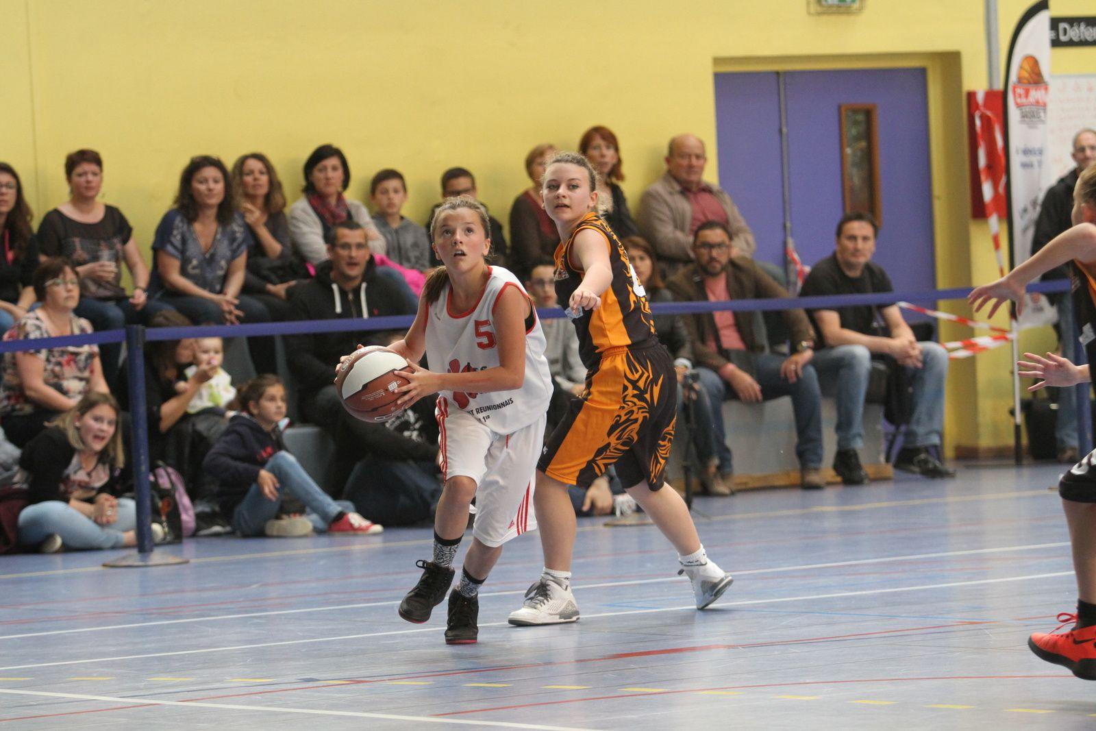 Auteurs d'une bonne saison, les benjamines du CLAMV Basket n'ont pas démérité en phase finale  de Division 1 du Comité du Rhône
