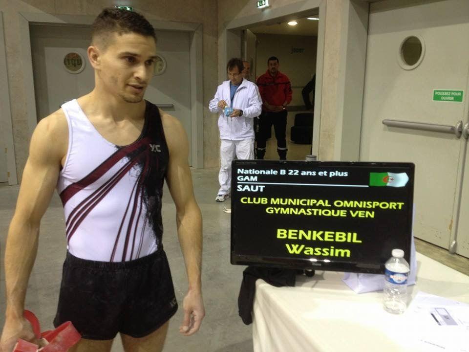 Wassim Benkebil et Kamil Karaoui ont représenté dignement les chances vénissianes à Montbéliard - Photos : ©CMOV Gym