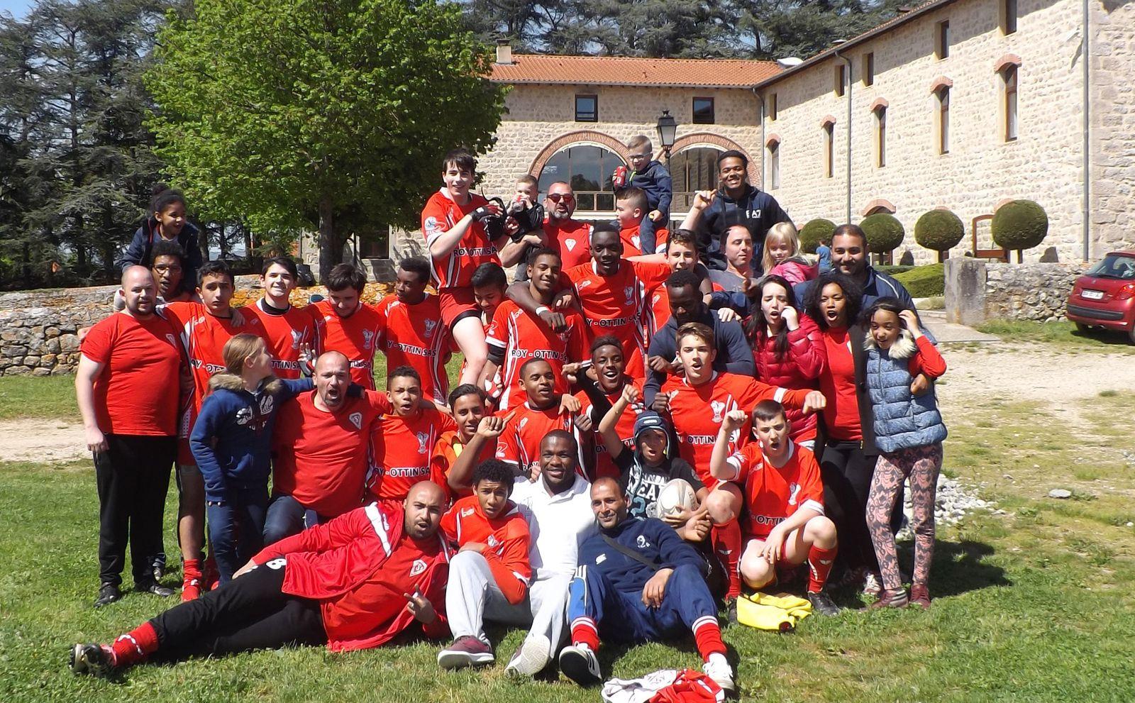 Les cadets de l'US Vénissieux Rugby enchaînent les performances