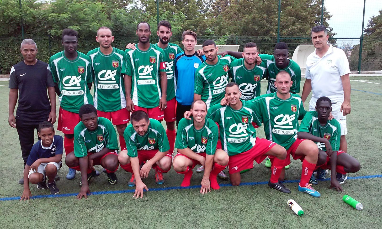 Voilà les Vénissians au 3e tourde Coupe de France - Photo : © US Vénissieux Football