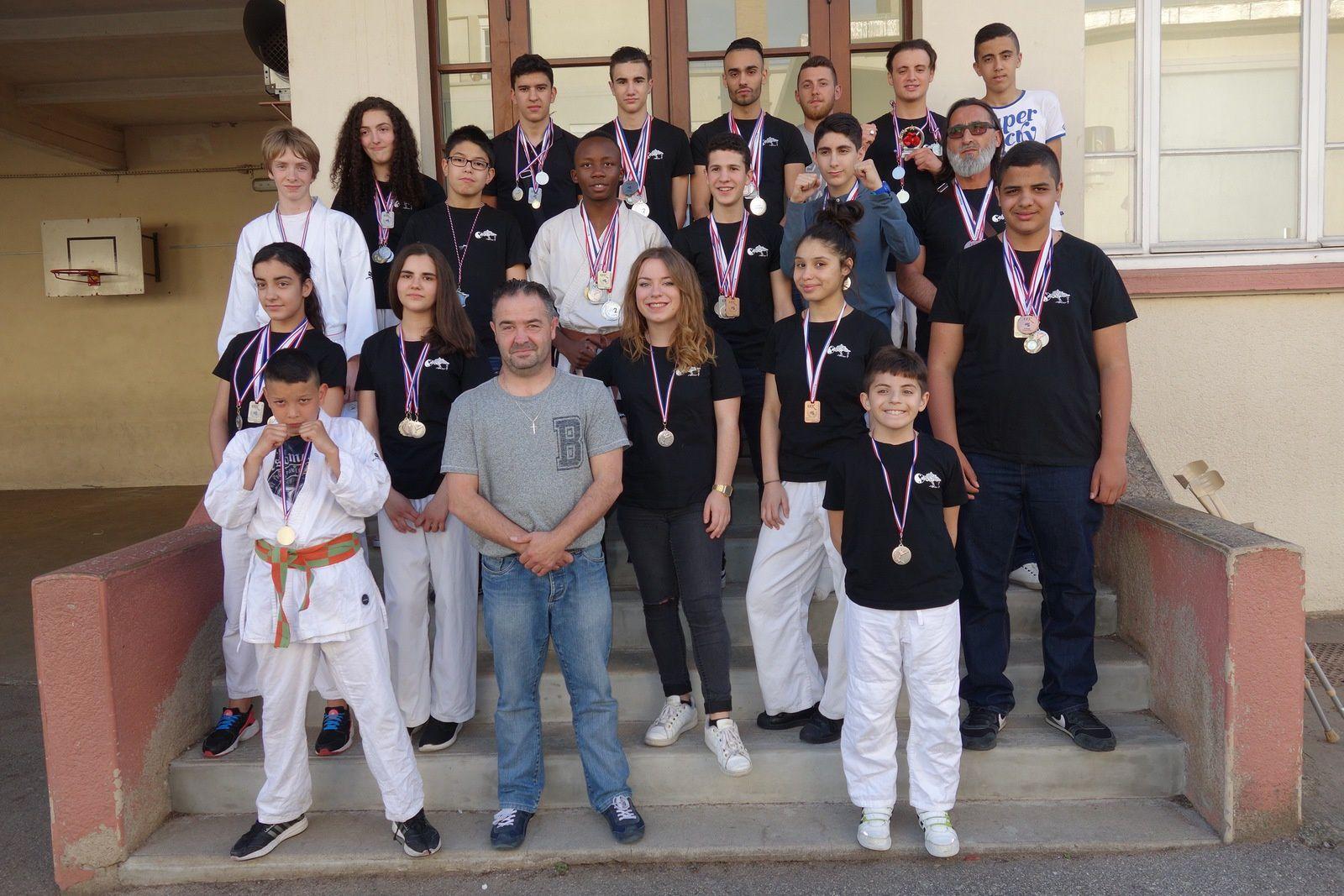 Le Bunkaï Karaté Do reconnu comme club amateur de haut-niveau par la Métropole de Lyon