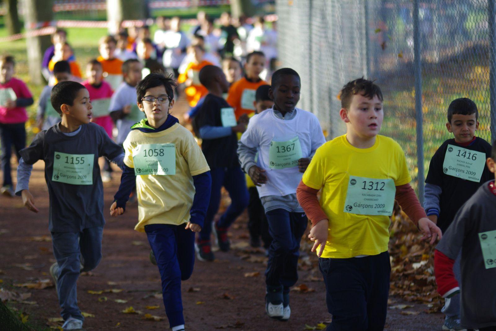 Record de participation pour la Foulée Vénissiane des scolaires
