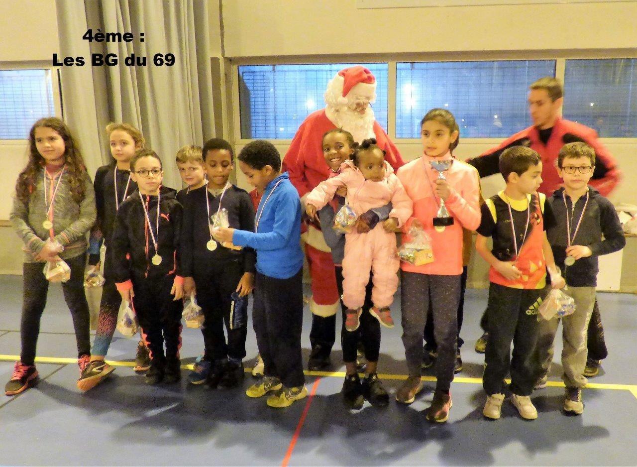 Les enfants qui ont participé à cette compétition d'athlétisme - Photos : © AFA Feyzin-Vénissieux