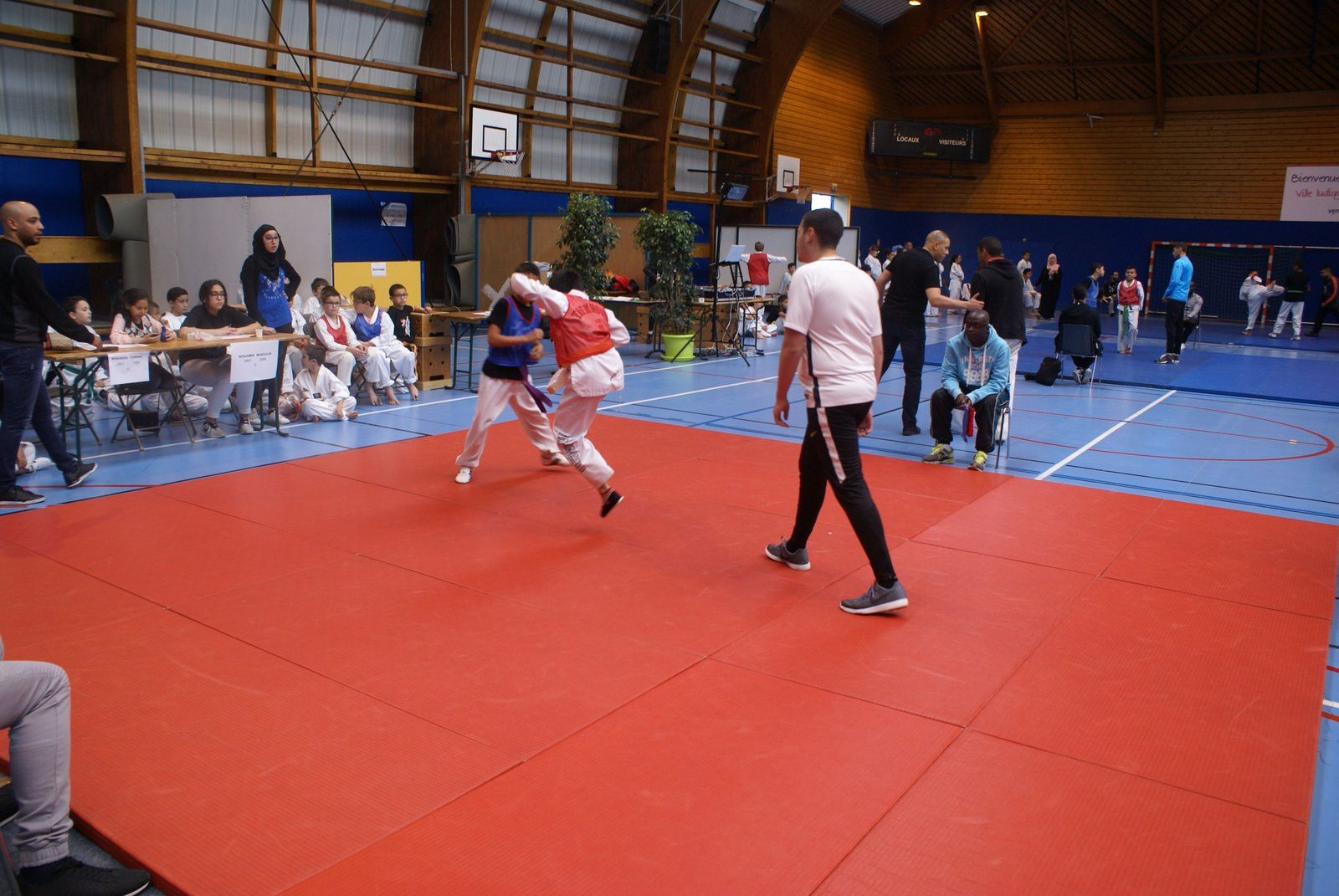 Photos : © Taekwondo Vénissieux